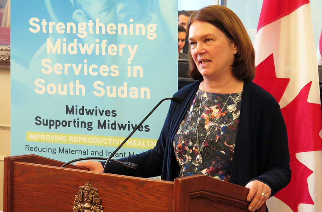 Jane Philpott, Minister of Health
