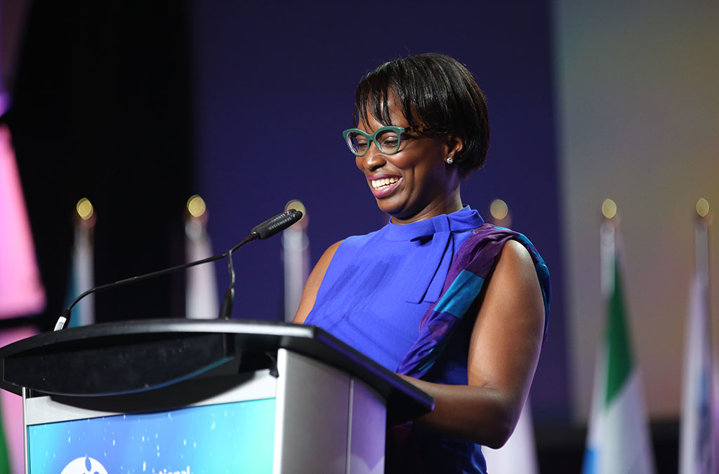 Celina Caesar-Chavannes, Member of Parliament & Parliamentary Secretary to the3 Minister of Intl Development