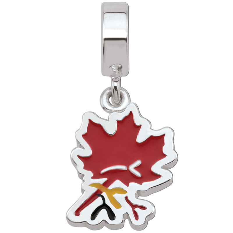 ICM 2017 Maple Leaf Charm